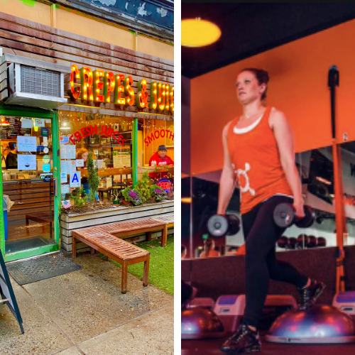 sw/EATS! Orange Theory Fitness and Bklyn Crepe!