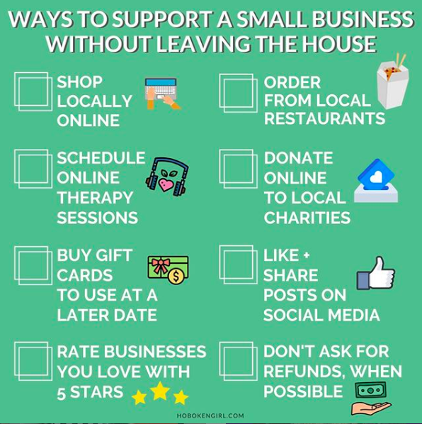 Tips for supporting local businesses during COVID-19