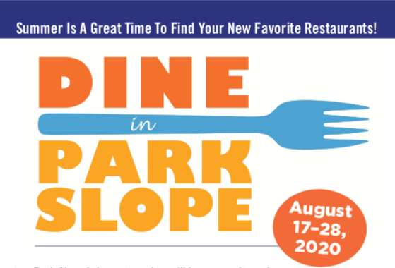 Dine in Park Slope is Coming!